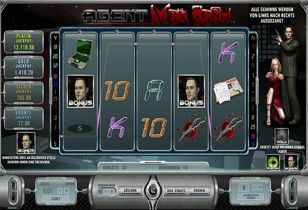 Agent Max Cash Slot