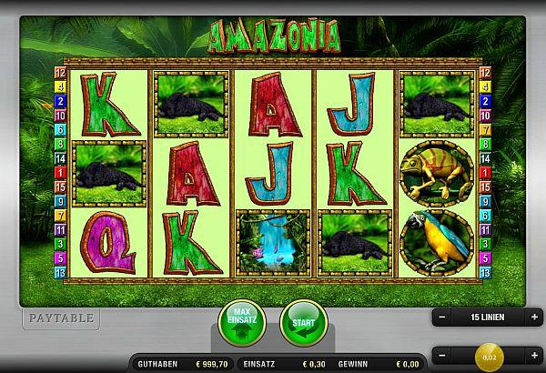 Amazonia bei Sunmaker online spielen