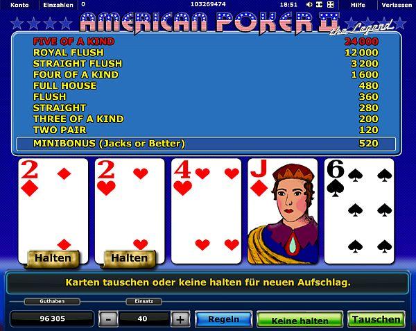 American Poker II online spielen