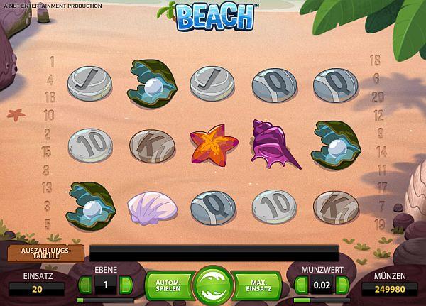 Beach online spielen im Casino Euro
