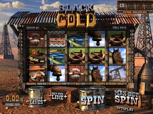 Black Gold Casino Spiel