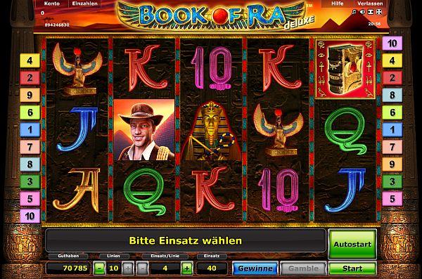Book of Ra deluxe spielen | Der beliebteste Slot
