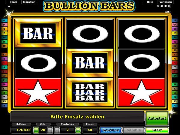 Bullion Bars Slot - Ein außergewöhnlicher Klassiker