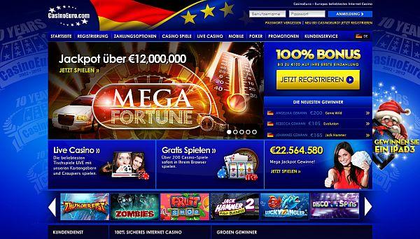 Spielen im Casino Euro