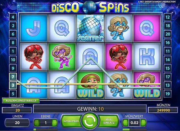 Disoc Spins Slot