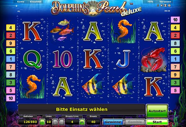 online casino euro dolphins pearl deluxe