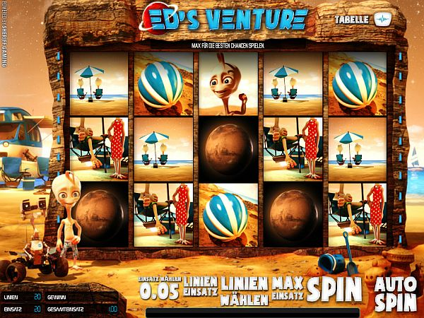 Ed's Venture 3D Slot