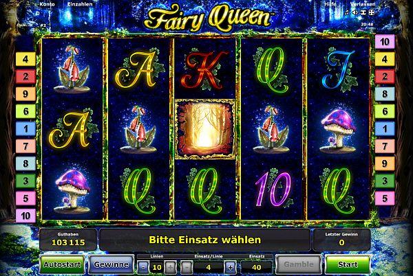 Fairy Queen bei Stargames online spielen.