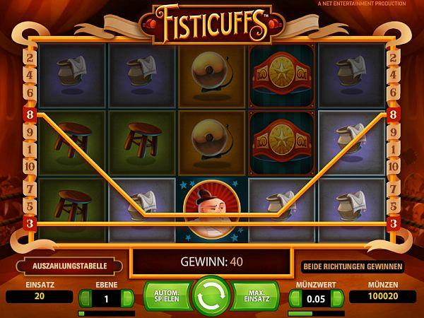 Fisticuffs Spielautomat