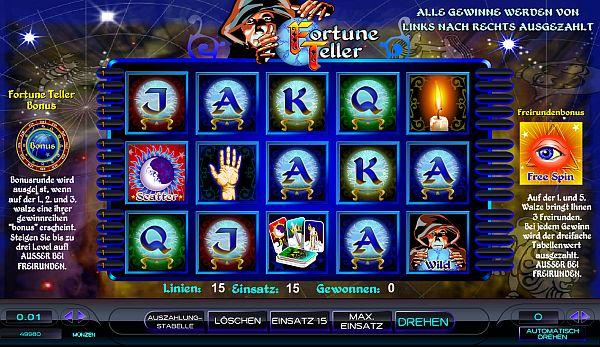 Fortune Teller gratis spielen im Mybet Casino