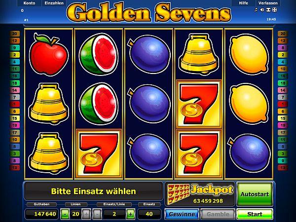 Golden Sevens Novoline