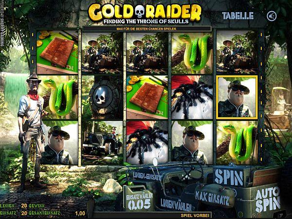 Gold Raider Spielautomat