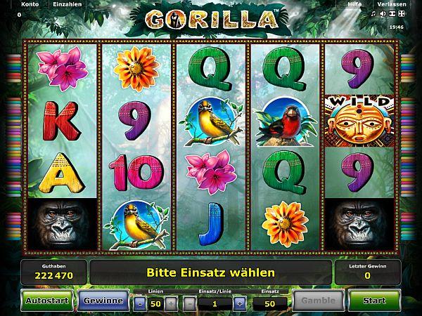 Gorilla Novoline