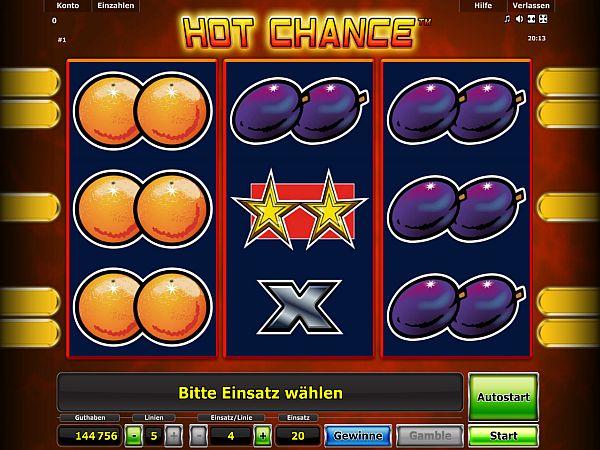 Hot Chance Novoline