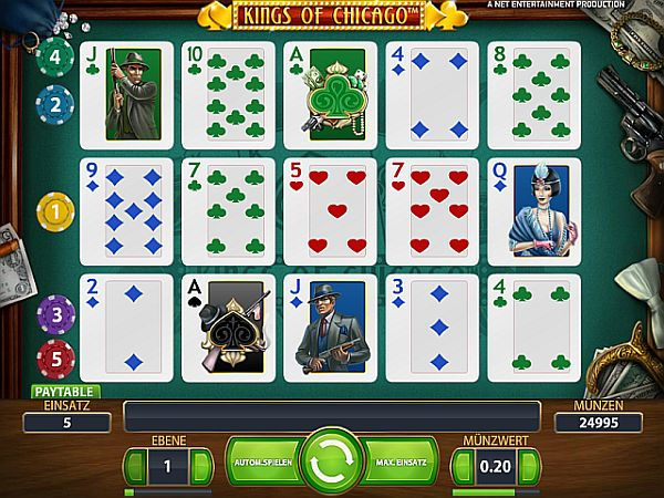 Kings of Chicago Kartenspiel