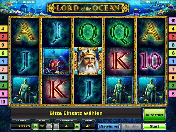 casino online ohne einzahlung lord of the ocean