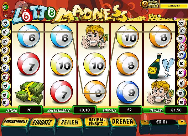 Lotto Madness spielen