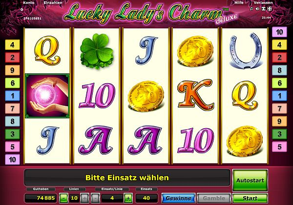 Lucky Ladys Charm Deluxe spielen