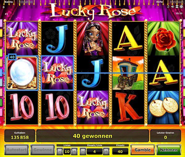 Lucky Rose Novoline