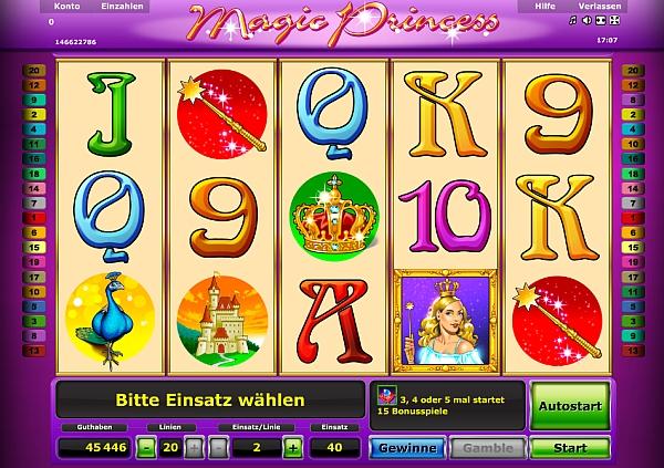 Magic Princess - jetzt bei Stargames spielen
