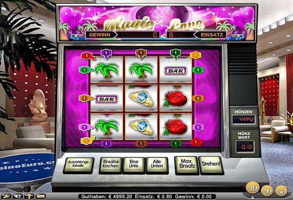 Magic Love Spielautomat