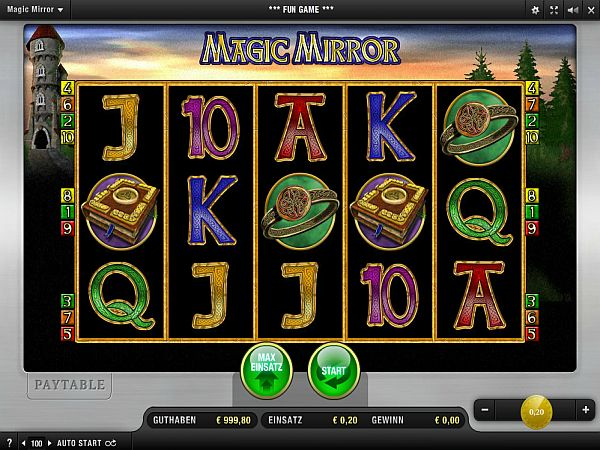 Magic Mirror Merkur Spiel