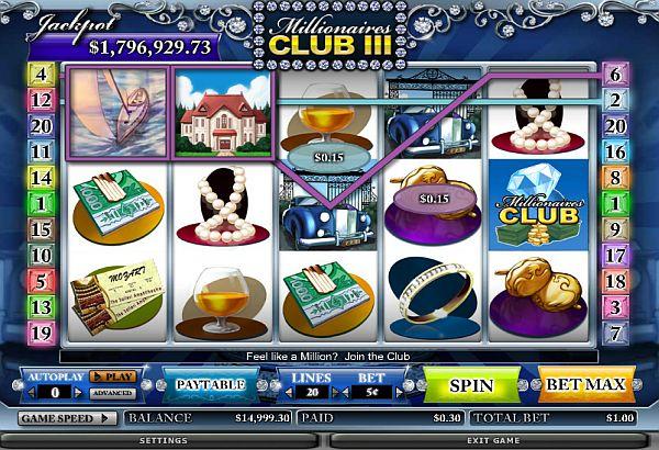 Millionaires Club III Intercasino