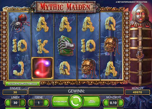 Mythic Maiden spielen
