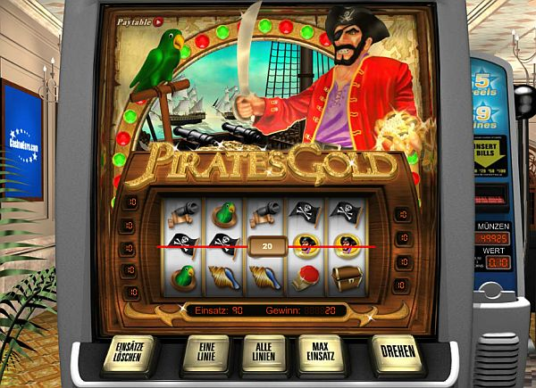 Pirates Gold von Net Entertainment