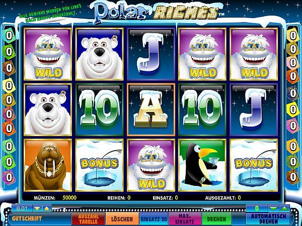Polar Riches Spielautomat