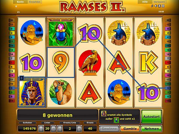 Ramses II Novoline