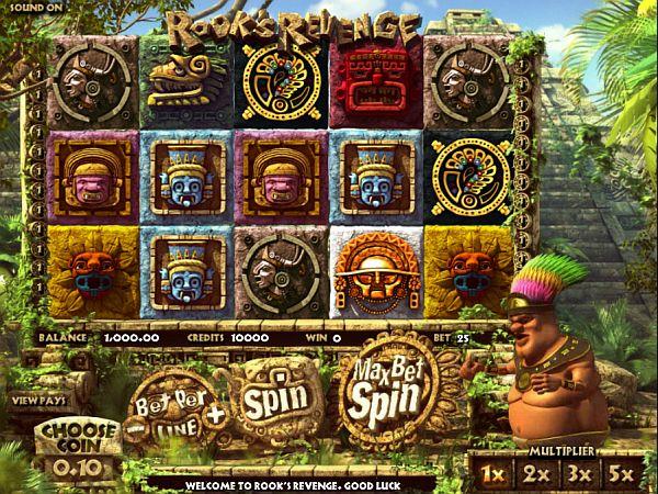 Rooks Revenge Spielautomat