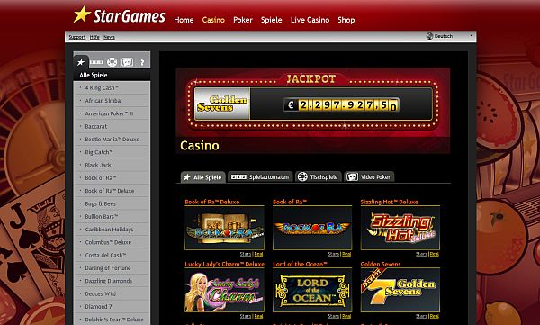 star casino online casino automatenspiele