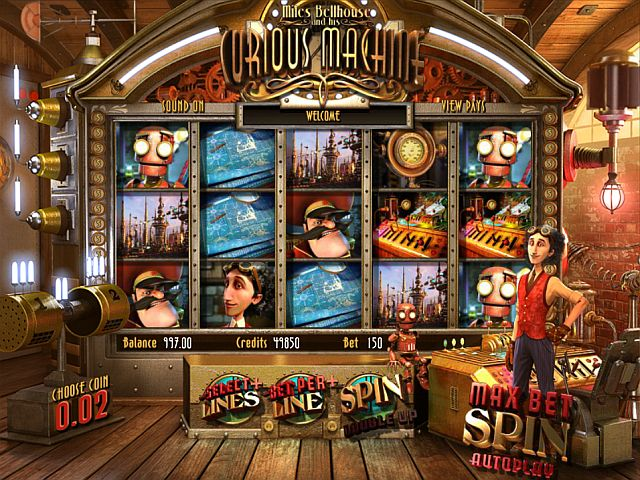 The Curious Machine Slot