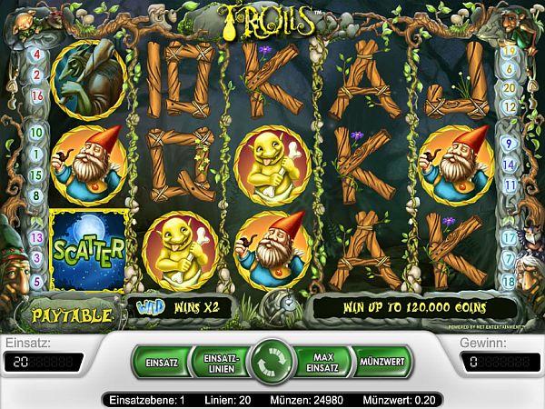 Trolls Casino Spiel