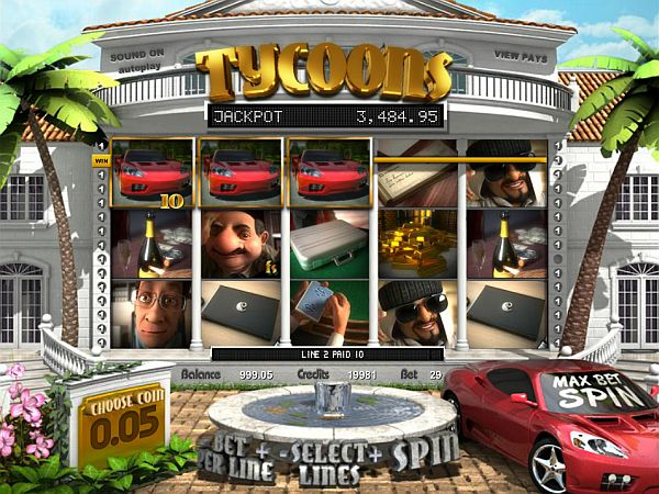 Tycoons Spielautomat