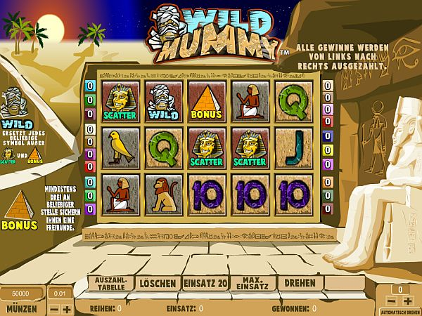 Wild Mummy Slot